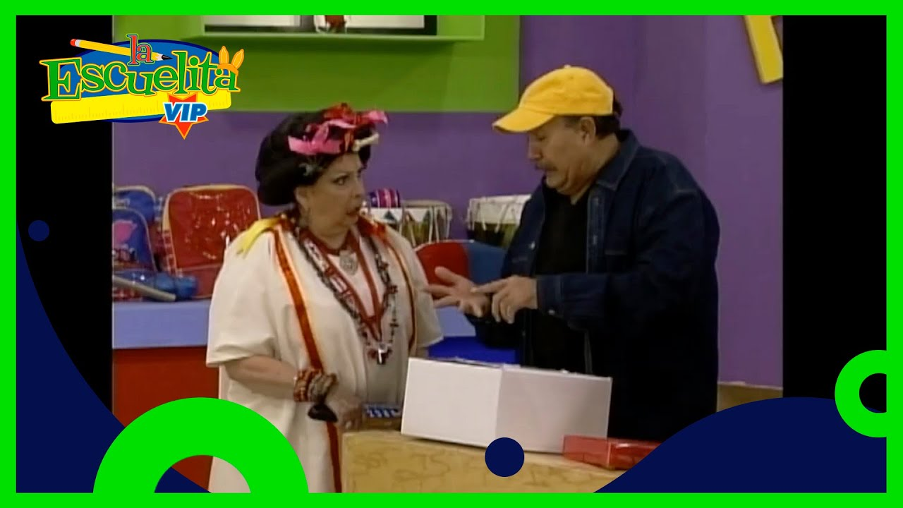 El niño Polo Polo lleva un pastel de 4 leches a la maestra | La Escuelita VIP | Distrito Comedia