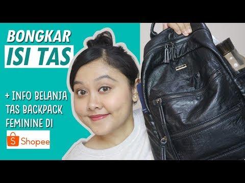 WHAT'S IN MY BAG? INI DIA ISI TAS SEHARI-HARIKU - YouTube