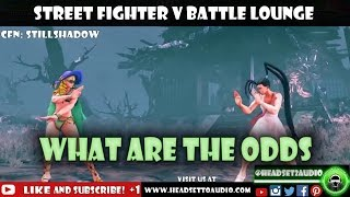 Street Fighter V Battle Lounge What Are the Odds thumbnail