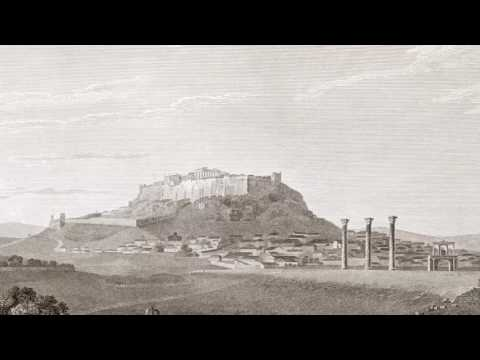 """Greek history - """"The Temple of Jupiter Olympus"""" (J. Stuart – N. Revett, 1814)"""