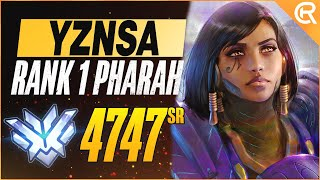 BEST OF YZNSA - TΗE PHARAH GOD | Overwatch YZNSA Montage Pharah