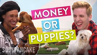 People Choose Between Money or Puppies! | The Science of Generosity