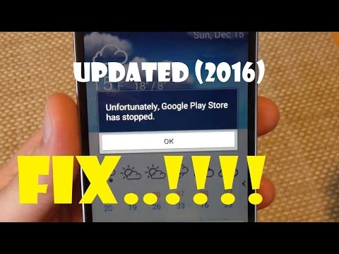 [UPDATED]Unfortunately Google Play Services Has Stopped FIX..!!(2016)..!