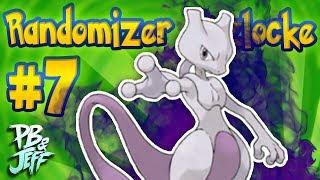 MEWTWO ALREADY? - Pokemon Leaf Green RANDOMIZER NUZLOCKE! (Part 7)