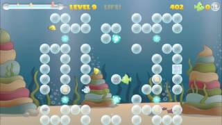 Fishes and Bubbles on iOS, the new genre Puzzle Game !