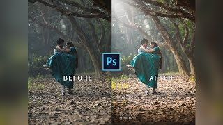 Photoshop cc tutorial: Pre Wedding Photo Editing Tutorial