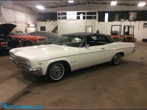 Lot 24787 - 1966 Chevy Impala SS Convertible