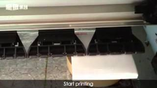 PVC or plastic printing(switch printing)