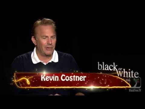 Kevin Costner on combing black girl's hair    Black or White