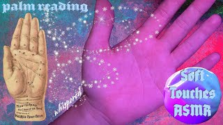 Soft Touches of the Palm and Forearm   Self Induced ASMR   Palmistry   Whispered screenshot 3