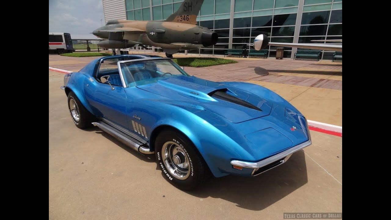 1969 Corvette Stingray >> 1969 Corvette Custom 427 in Action - YouTube