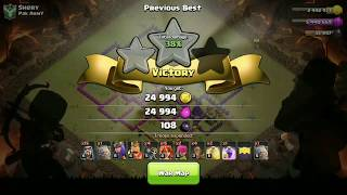 India vs PAKISTAN clash of clans best war avr!!!!! Who will win?