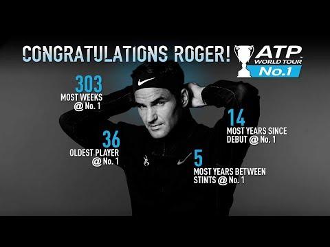 What Happened Between Roger Federer's No. 1 Ascents