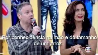 """Chip da Besta 666 agora na Globo """" Fatima Bernardes """""""