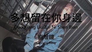 劉增瞳 【多想留在你身边/Duo Xiang Liu Zai Ni Shen Bian】【歌詞/Lyrics】