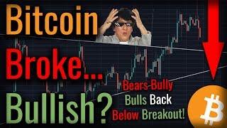 Bitcoin Broke BULLISH! Coming Bitcoin Crash Still Looms