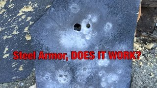 ar500 steel armor style does it work