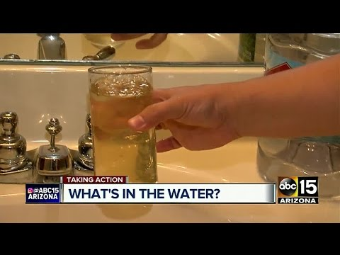 Discoloration In Phoenix Water