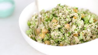 Broccoli and Raisin Couscous Salad- Healthy Appetite with Shira Bocar