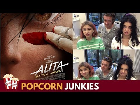 ALITA : Battle Angel (Final Trailer) - Nadia Sawalha & Family Reaction