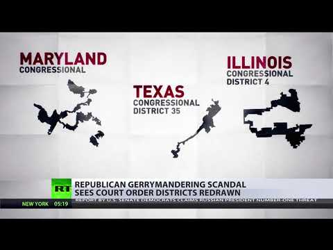 North Carolina gerrymandering scandal sees court-ordered districts redrawn