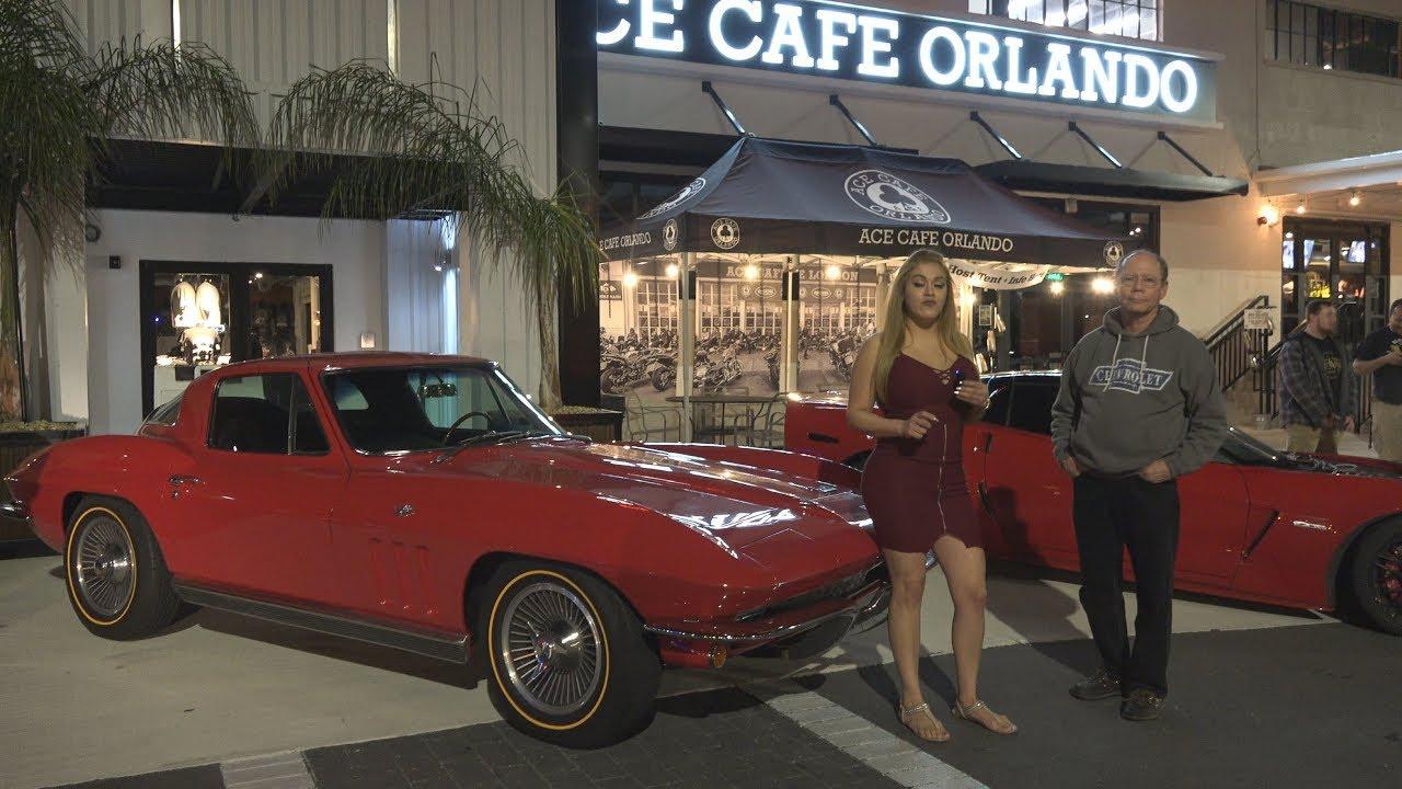 ACE Cafe Muscle Car Show Chevy Corvette USClassicMuscleCars - Ace cafe orlando car show