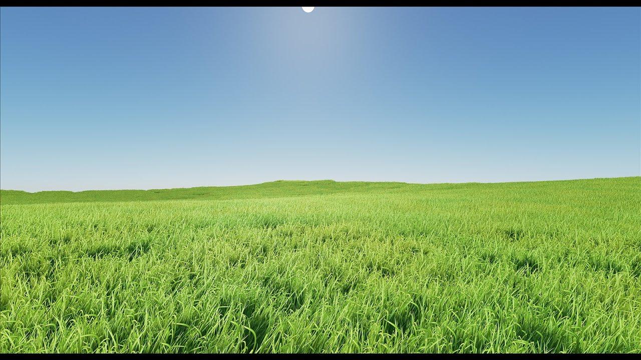 Quick Unreal Engine 4 Grass Tutorial