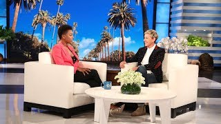 Samira Wiley Touts Ellen as the 'Lord of the Lesbians'
