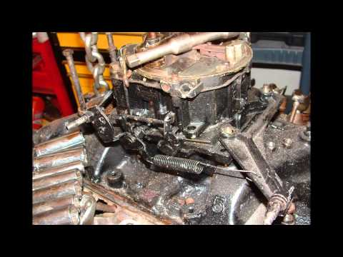 Rebuilding Mercruiser Chevy 5.7 Marine Engine Slide-show
