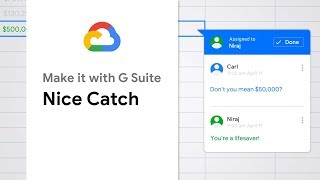 Nice Catch - Make it with G Suite