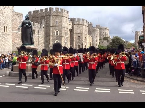 Changing the Guard at Windsor Castle - Saturday the 19th of August 2017