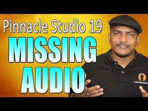 No Audio / Sound in Pinnacle Studio (FIX)