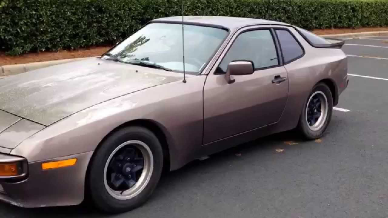 1983 Porsche 944  the start of a new project  YouTube