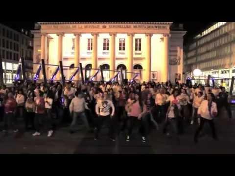 Flashmob Brussels - World Cancer Day