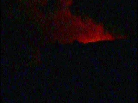 Kilauea Volcano - Waikupanaha Ocean Entry