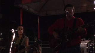 "Jeff Watson and Almira Fawn performing ""Wagon Wheel"""