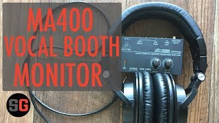 $25 MicroMON MA400 Vocal Booth Monitor