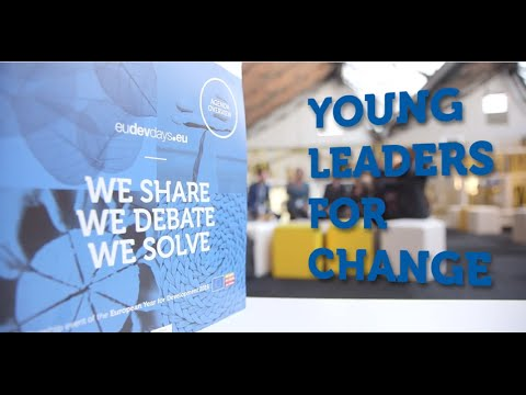 Young Leaders For Change - European Development Days