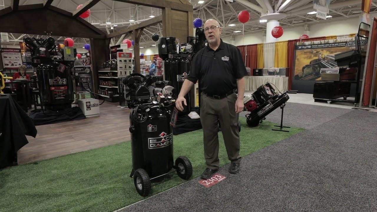 The Best Portable 30 Gal Air Compressor Black Diamond 30