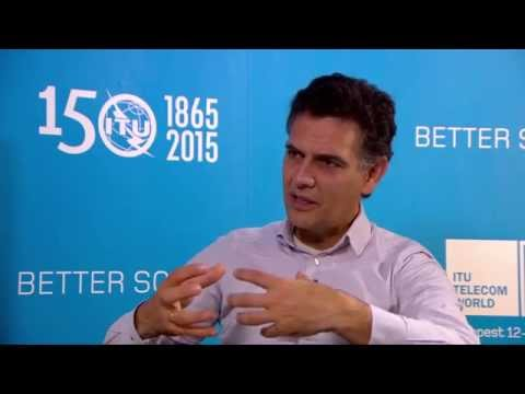 ITU TELECOM WORLD 2015 INTERVIEWS: Isidro Laso Ballesteros, Head of Sector, Startup Europe