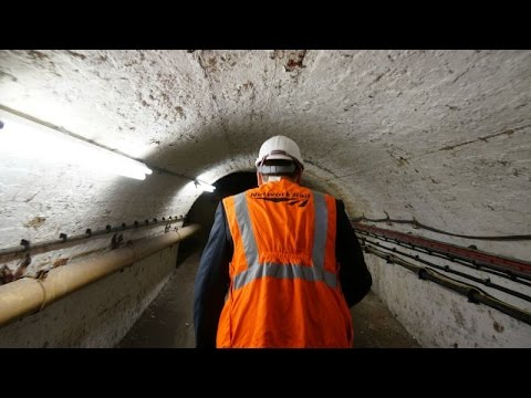 Exclusive behind the scenes tour of the tunnels underneath Bristol's Temple Meads