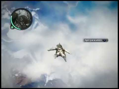 Just Cause 2 Paracadutismo Estremo