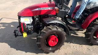 Обзор мини трактора МТЗ 152 Беларус и навесного оборудования