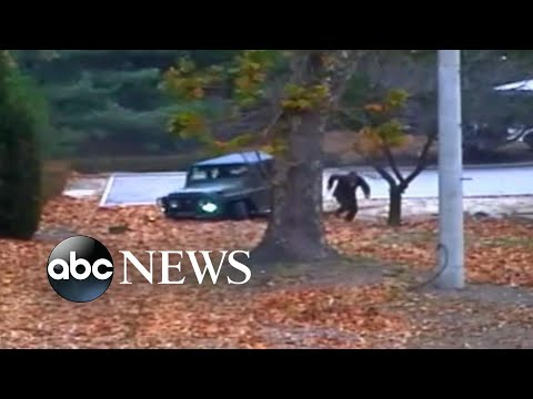 Thumbnail: Video shows North Korean defector shot 5 times