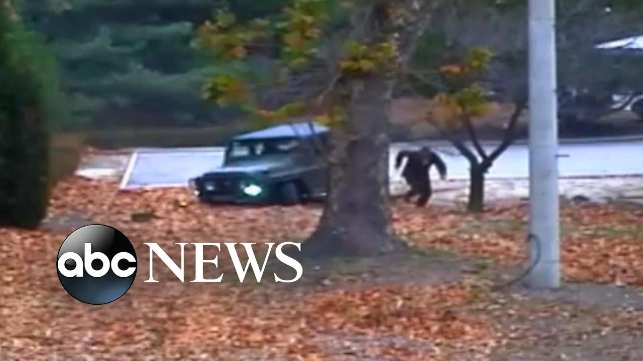 Video shows North Korean defector shot 5 times
