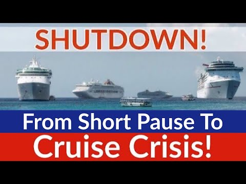Cruise Shutdown! What's Happened To All The Cruise Ships & Cruise Lines In 2020?