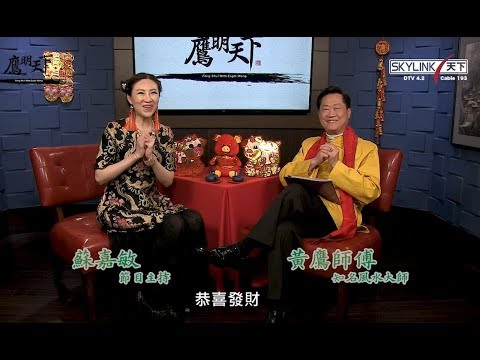 2019《鷹明天下》EP 3: 生肖豬, 鼠, 牛生肖運程 Fengshui with Master Eagle Wong 【天下衛視官方頻道 Sky Link TV YouTube Channel】