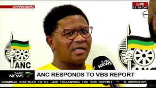 ANC responds to VBS report