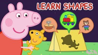 Peppa Pig | Surprise Puzzle Games - Learn Shapes for Kids | Learn With Peppa Pig