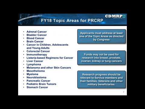 Tips for Successful PRCRP Application